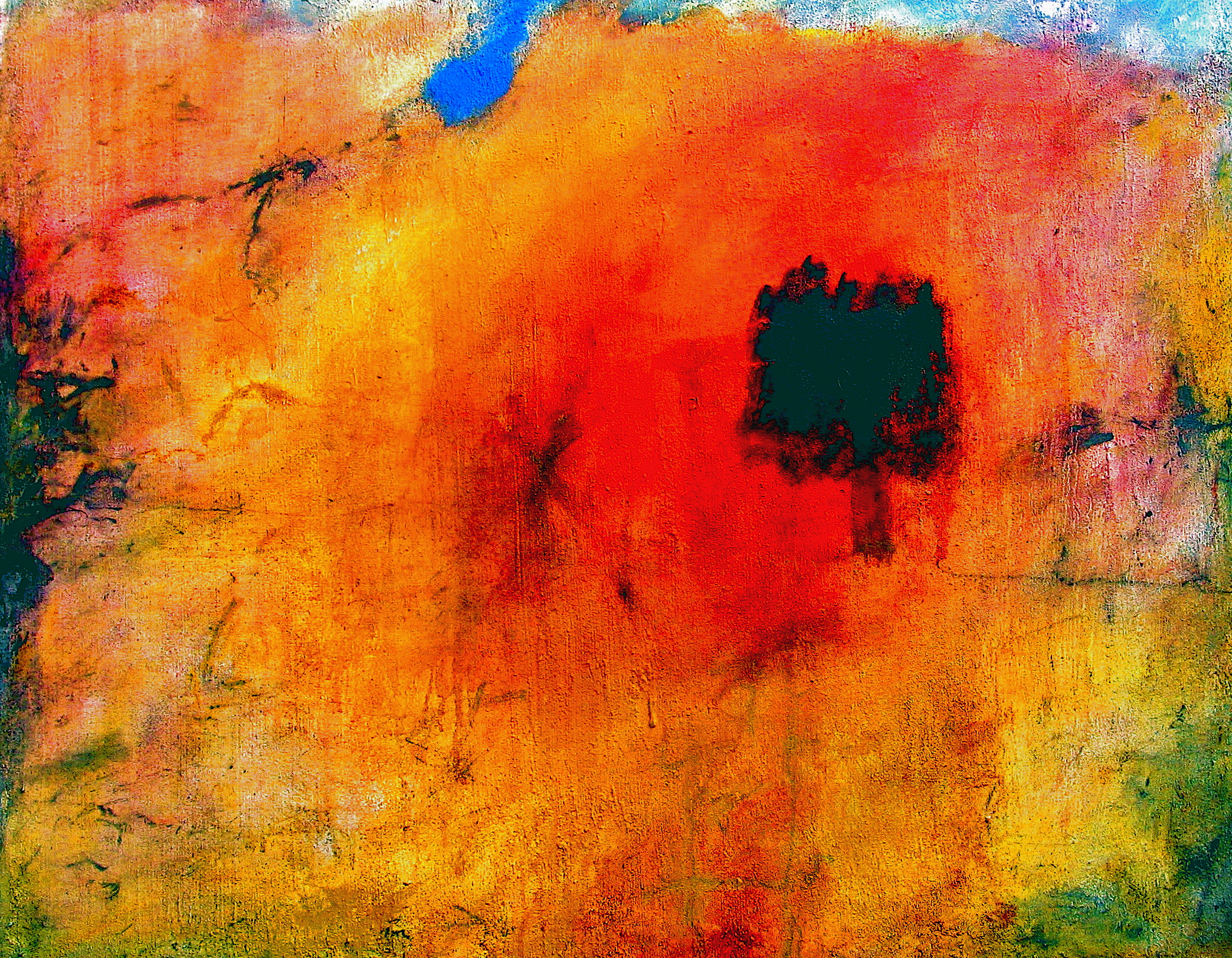 2003 acryl op doek 80 x 100 cm Verkocht aan Frans Pleumeekers (galerie FAH; 2008)